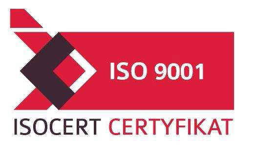 Certificate ISO 9001:2009